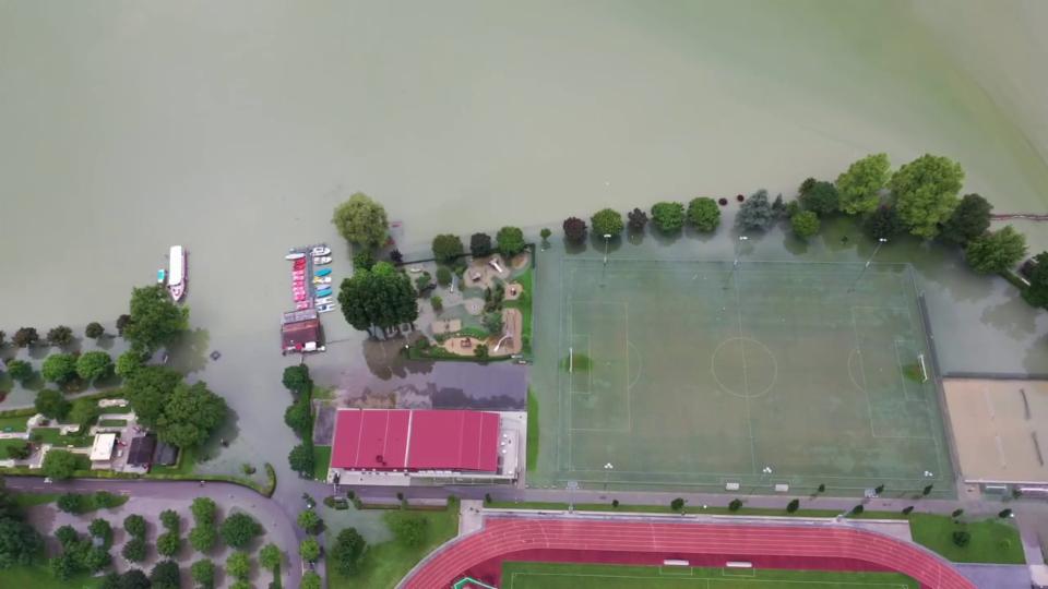 Hochwasser Sarnersee, Bruno Leuzinger, 16. Juli