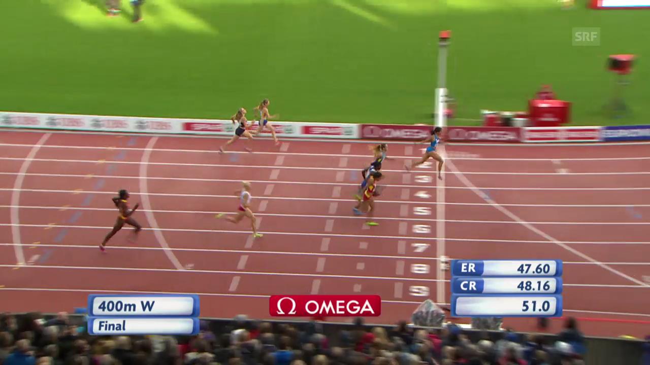 Leichtathletik-EM: 400-m-Final Frauen