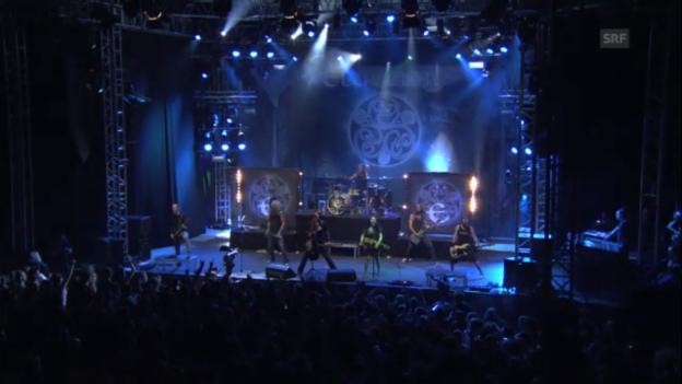 Video «Das ganze Konzert: Eluveitie am Gurtenfestival 2013» abspielen