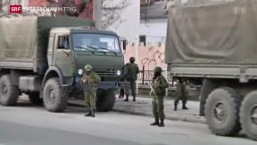 Video «Ukrainisches Parlament segnet Kreditabkommen mit EU ab» abspielen