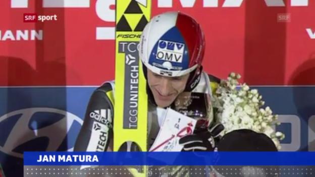 Video «Skispringen: Weltcup in Sapporo» abspielen