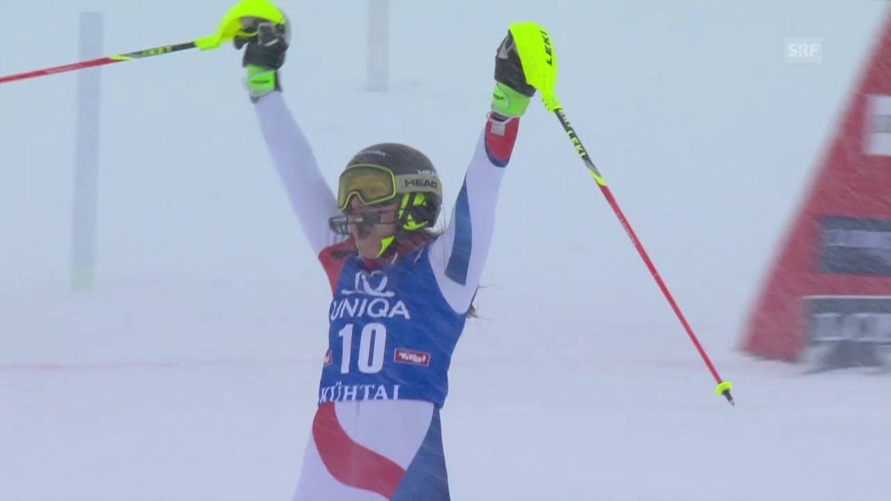 Ski Alpin: Holdener in Kühtai auf dem Podest