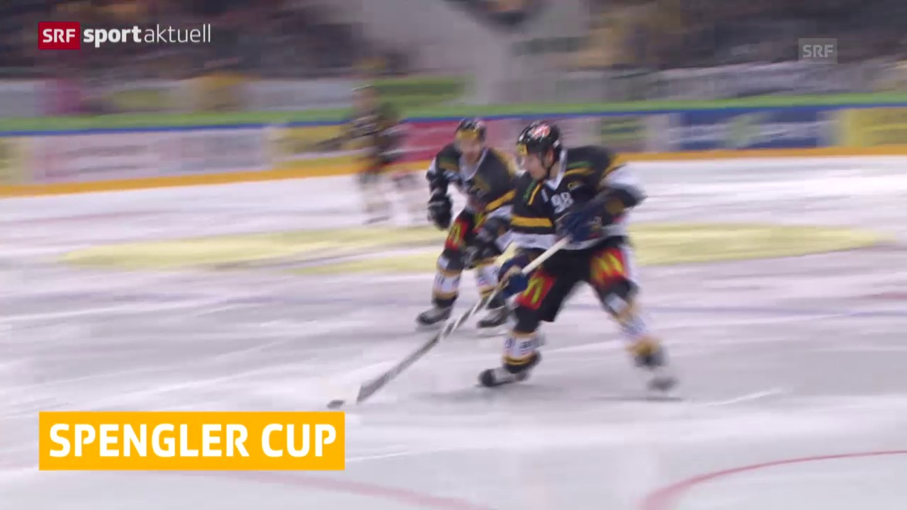Eishockey: Lugano statt Genf am Spengler Cup