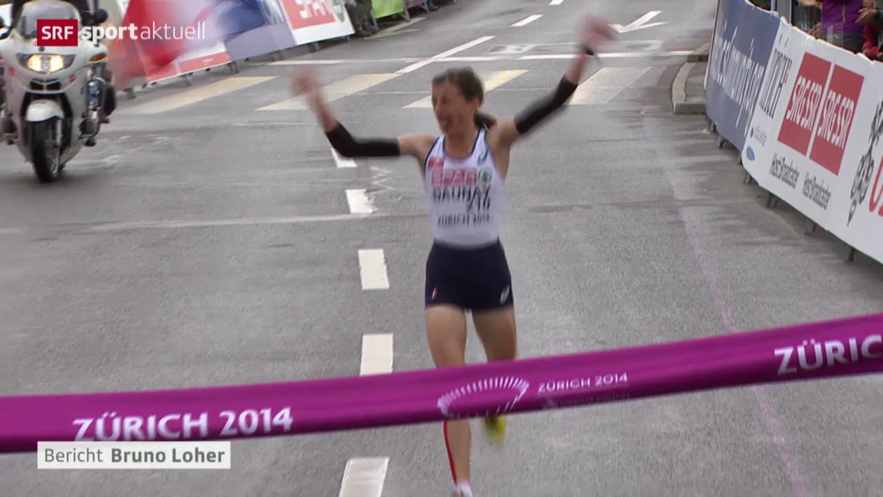 Leichtathletik-EM Zürich, Marathon Frauen