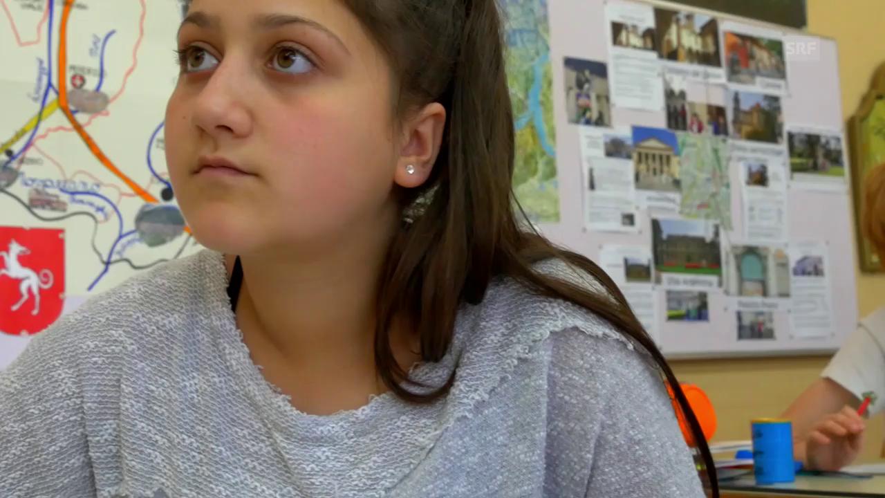 Razan in der Schule