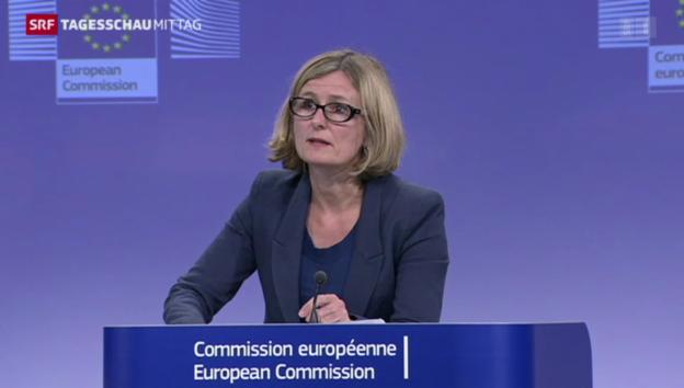 Video «EU-Kommission erleichtert» abspielen