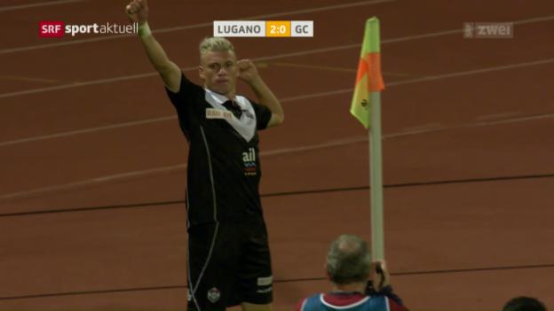 Video «GC verliert auch in Lugano» abspielen