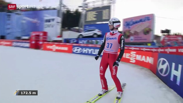 Video «Skifliegen: WM in Harrachov» abspielen