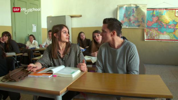 Video «Dai, domanda!: La scuola (1/10)» abspielen