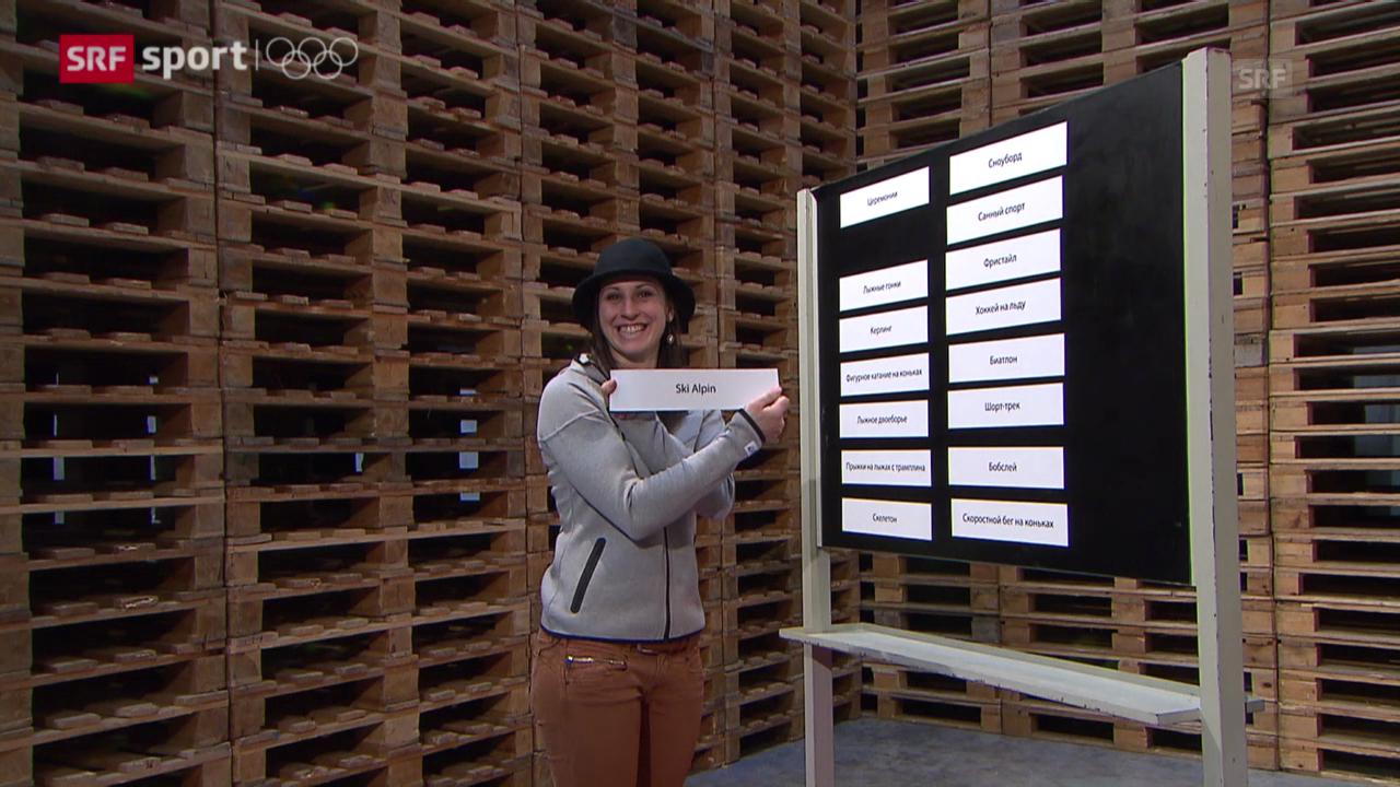 «Udatschi» mit Marianne Kaufmann-Abderhalden