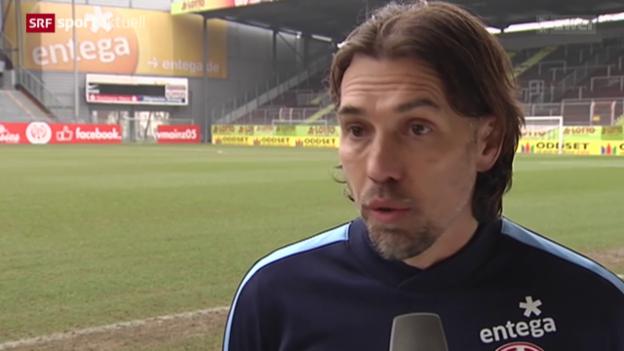 Video «Fussball: Martin Schmidt neuer Mainz-Trainer» abspielen