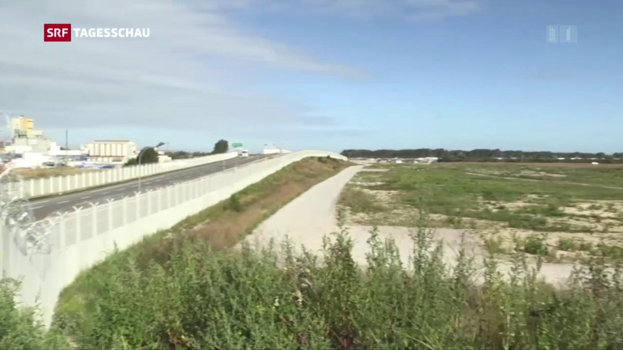 Der Mauerbau von Calais