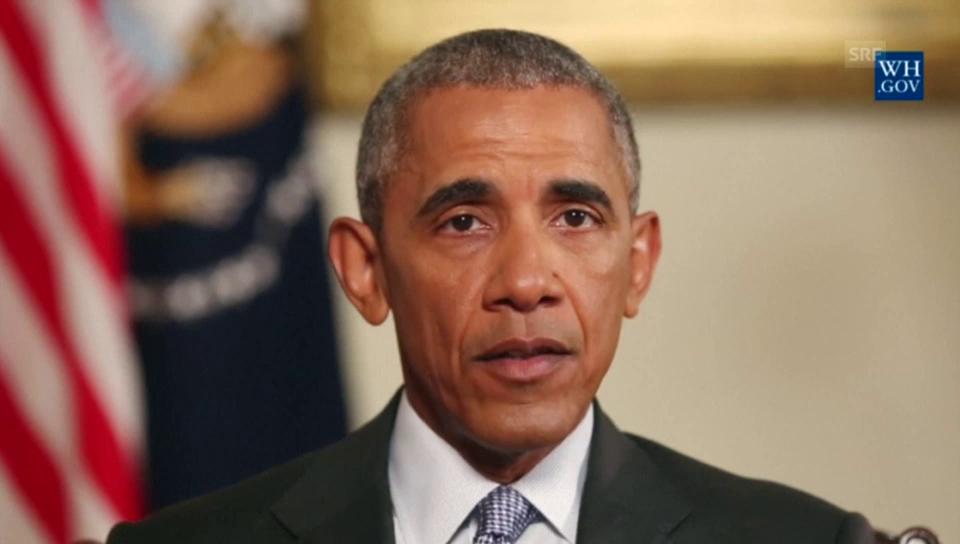 Obama gedenkt der 9/11-Opfer (Englisch)