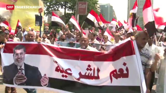 Ägyptens Muslimbrüder kämpfen weiter
