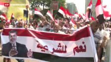 Video «Ägyptens Muslimbrüder kämpfen weiter» abspielen