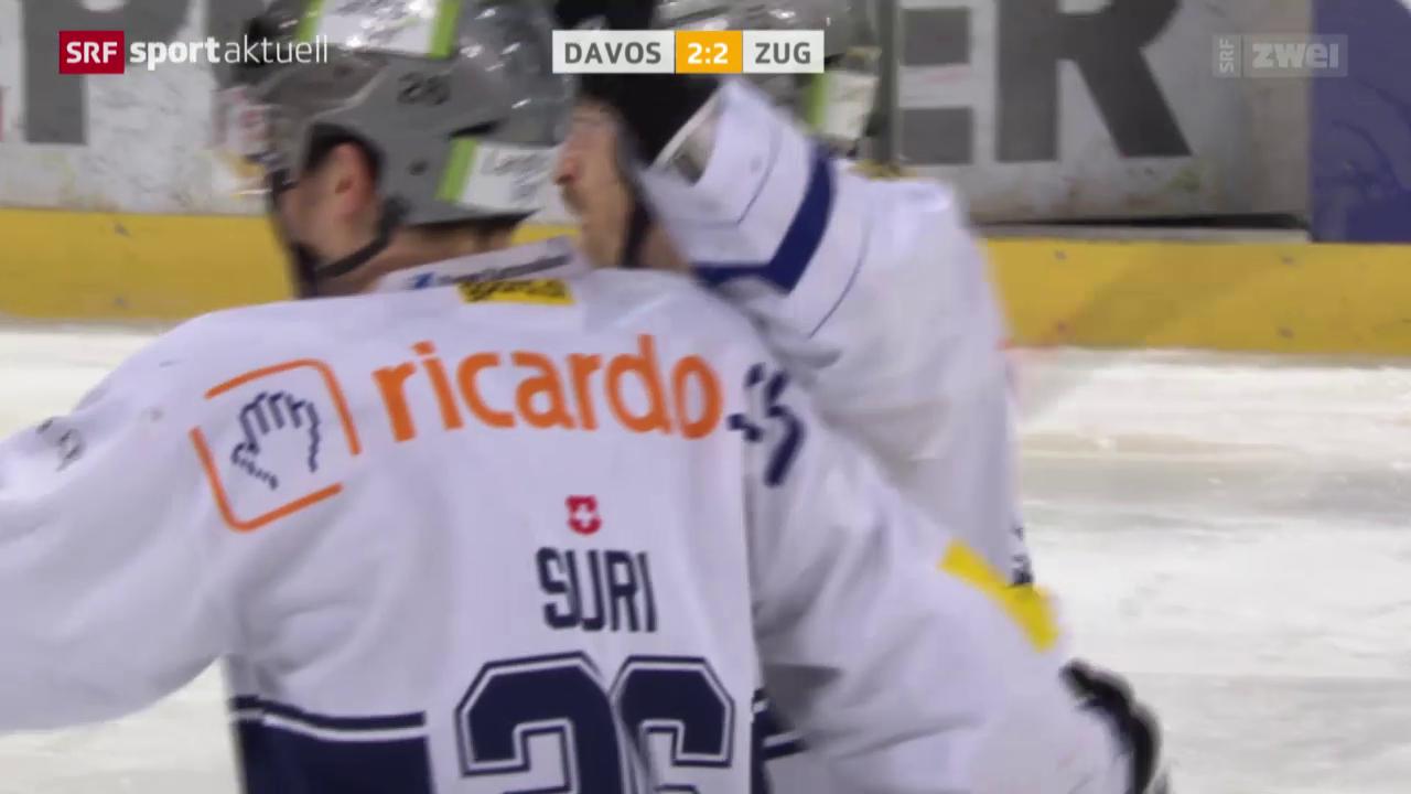 Eishockey: Davos - Zug