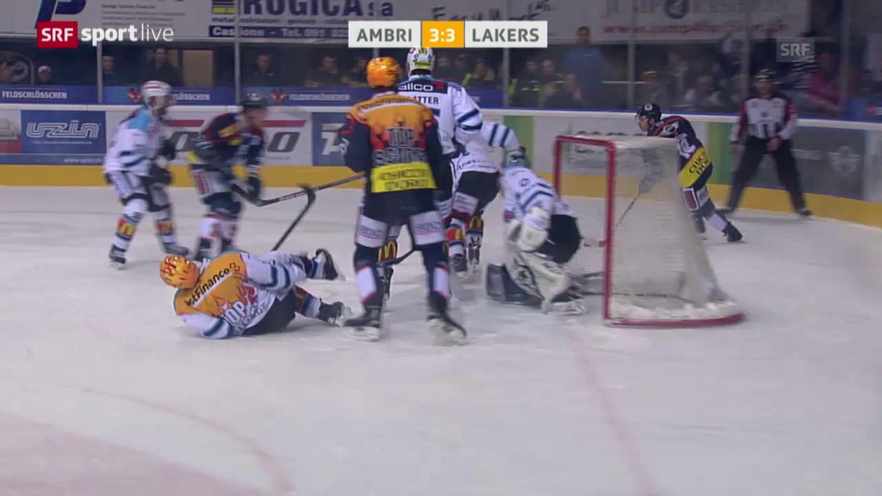 Eishockey: Playout-Final, Unsportlichkeiten Giroux Danielsson