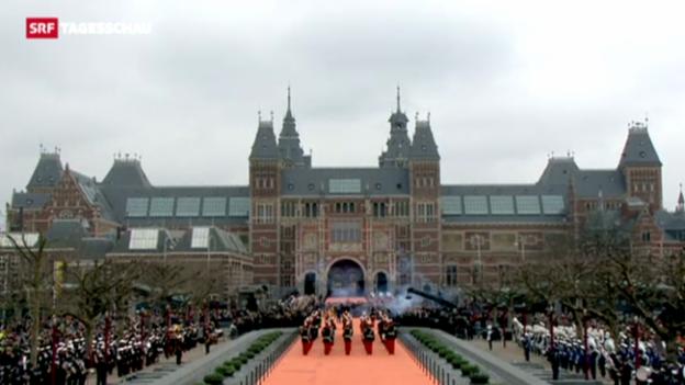 Video «Wiedereröffnung des «Rijksmuseums»» abspielen