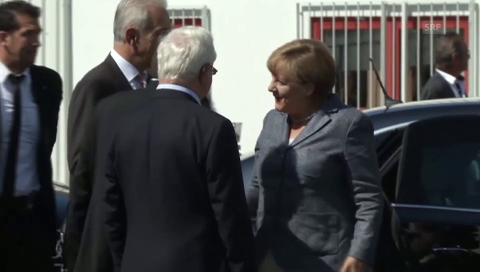 Merkel wird ausgebuht