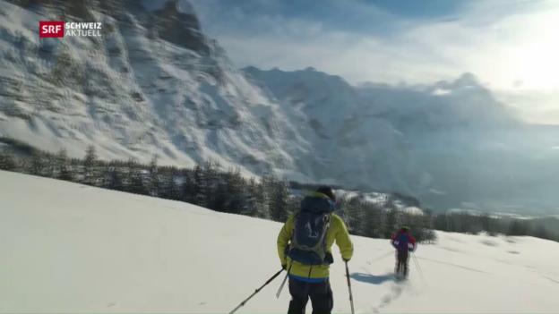 Video «Streit um Skitouren-Routen» abspielen