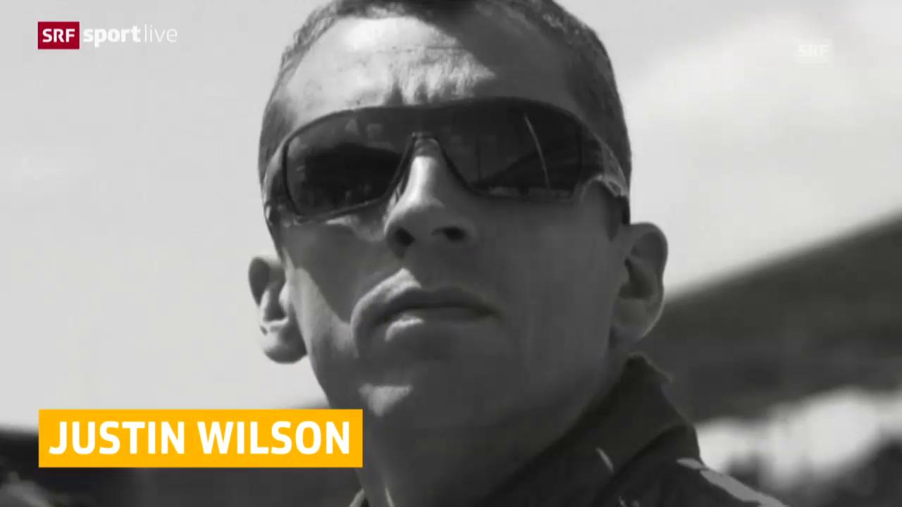 Motorsport: Justin Wilson ist tot