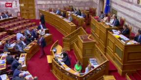 Video «Verhandlungen in Griechenland» abspielen