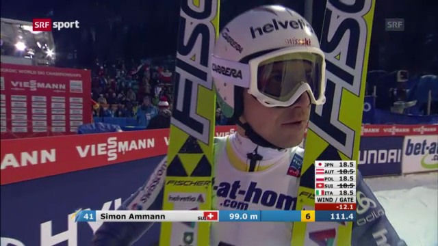 Simon Ammann verpasst Medaille «sportaktuell»