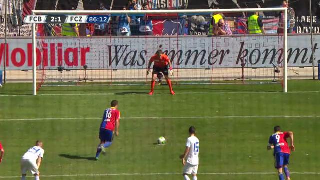 Fussball: Highlights Basel - Zürich («sportlive»)