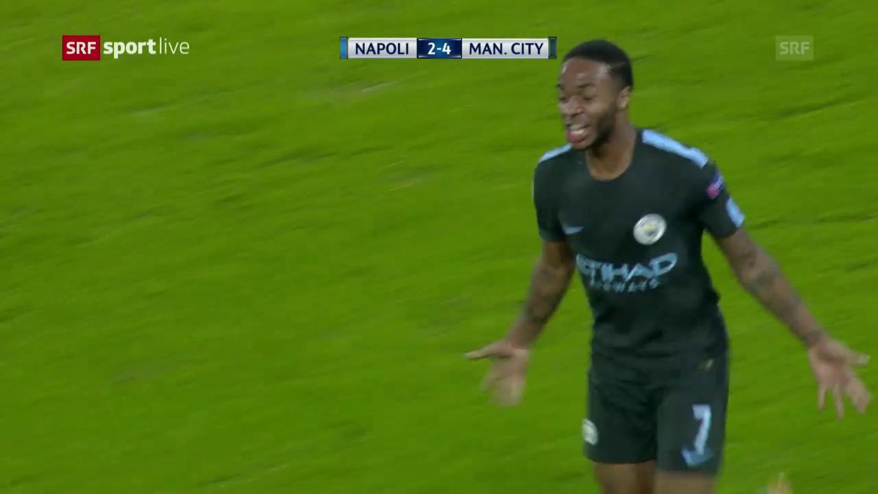 ManCity löst gegen Napoli Achtelfinal-Ticket