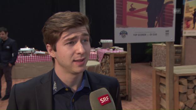 Video «Martschini: «Mir passt Genfs physischer Spielstil»» abspielen