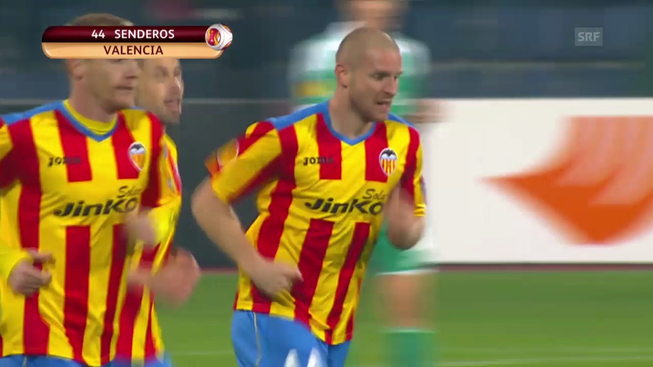 Fussball: Europa League, Rasgrad - Valencia («sportlive», 13.03.2014)