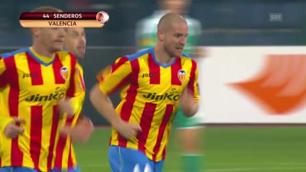 Video «Fussball: Europa League, Rasgrad - Valencia («sportlive», 13.03.2014)» abspielen