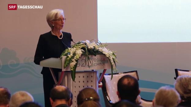 Video «Finanzministertreffen am G20-Gipfel» abspielen