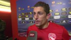 Video «Interview mit Thun-Captain Dennis Hediger («sportlive, 12.12.2013)» abspielen