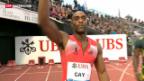 Video «Tyson Gay mit positivem Dopingtest» abspielen