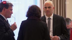 Video «Berset warnt vor Schwächung des Zusammenhalts» abspielen