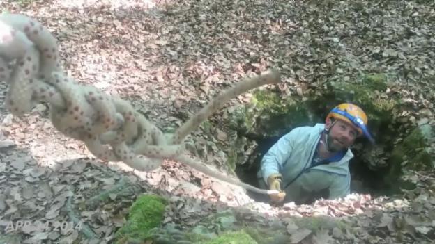 Video «Der Dreh von «SRF bi de Lüt – Wunderland» in 35 Sekunden» abspielen