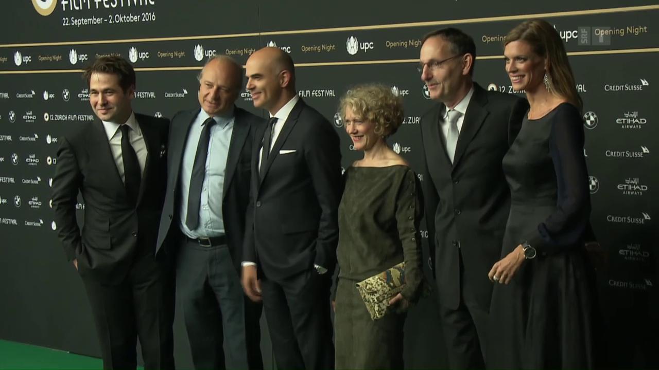 Zurich Film Festival: Berset und Weinstein auf dem grünen Teppich
