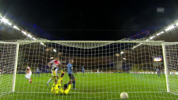 Video «Fussball: Europa League 2015/16, 2. Gruppenspiel, Monaco - Tottenham» abspielen