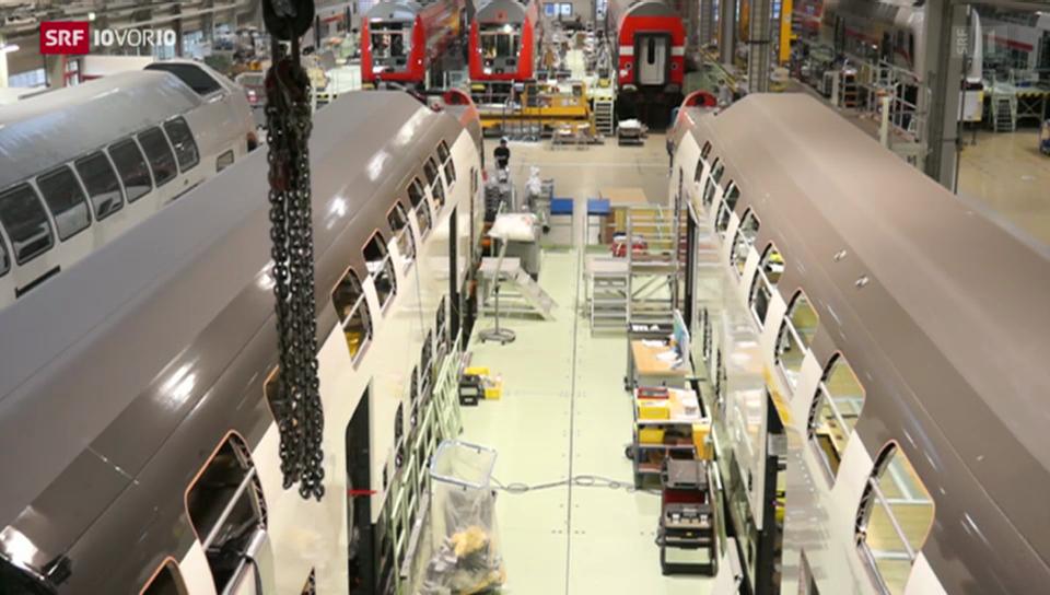Lieferprobleme bei neuen SBB-Zügen