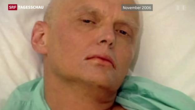 Video «Russischer Präsident billigte wohl Giftmord an Ex-Spion» abspielen