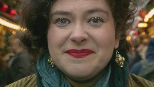 Video «So klingt Weihnachten auf Nora-Gomringer-Art» abspielen