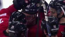 Video «Eishockey: Simon Mosers Last-Minute-Tor gegen Lettland (sotschi direkt, 12.01.2014)» abspielen