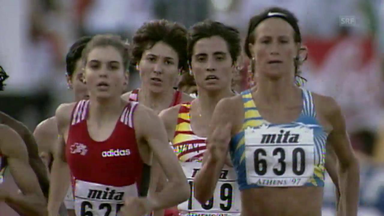«Gring dunge»: So «secklete» Weyermann 1997 zu WM-Bronze