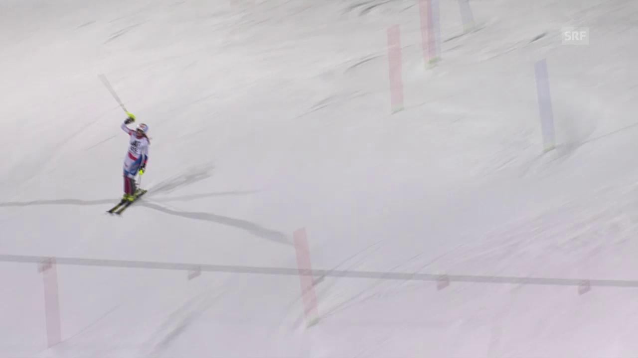 Ski: Slalom Flachau, Chables Weltcup-Debüt