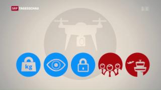 Video «Drohnen als fliegende Wanzen? » abspielen