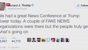 Video «Trump und seine schwierige Beziehung zu den Medien» abspielen