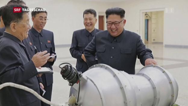 Video ««Erfolgreicher» Test einer Wasserstoffbombe?» abspielen