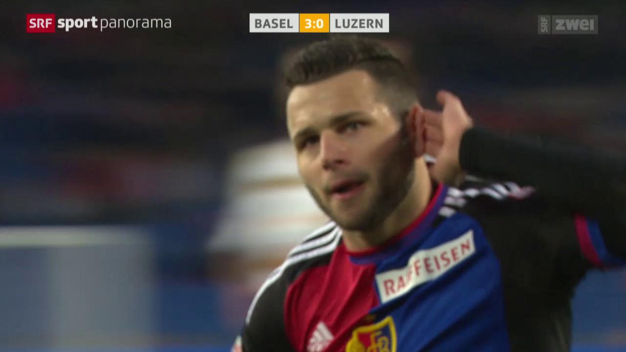 Basel - Luzern oder Steffens emotionales Debüt