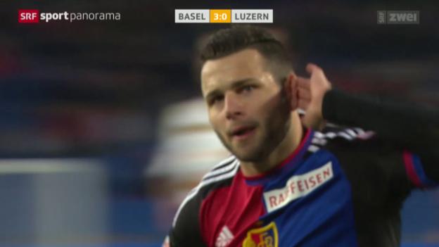 Video «Basel - Luzern oder Steffens emotionales Debüt» abspielen